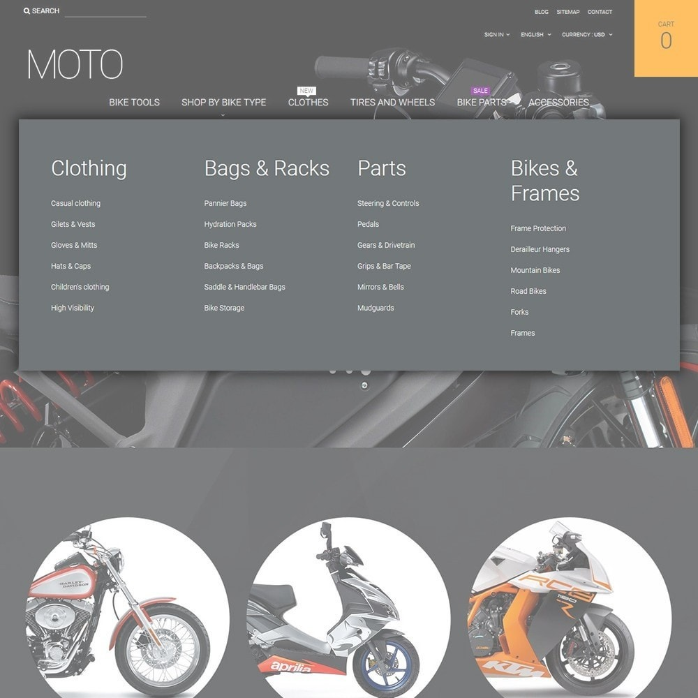 theme - Coches y Motos - Moto - Bike Shop - 4