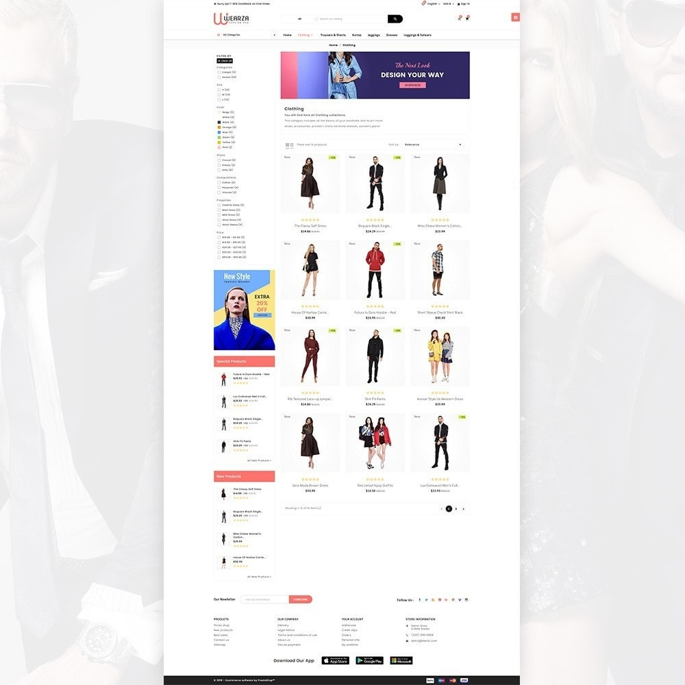 theme - Mode & Chaussures - Wearza – Fashion and Big Super Store - 3