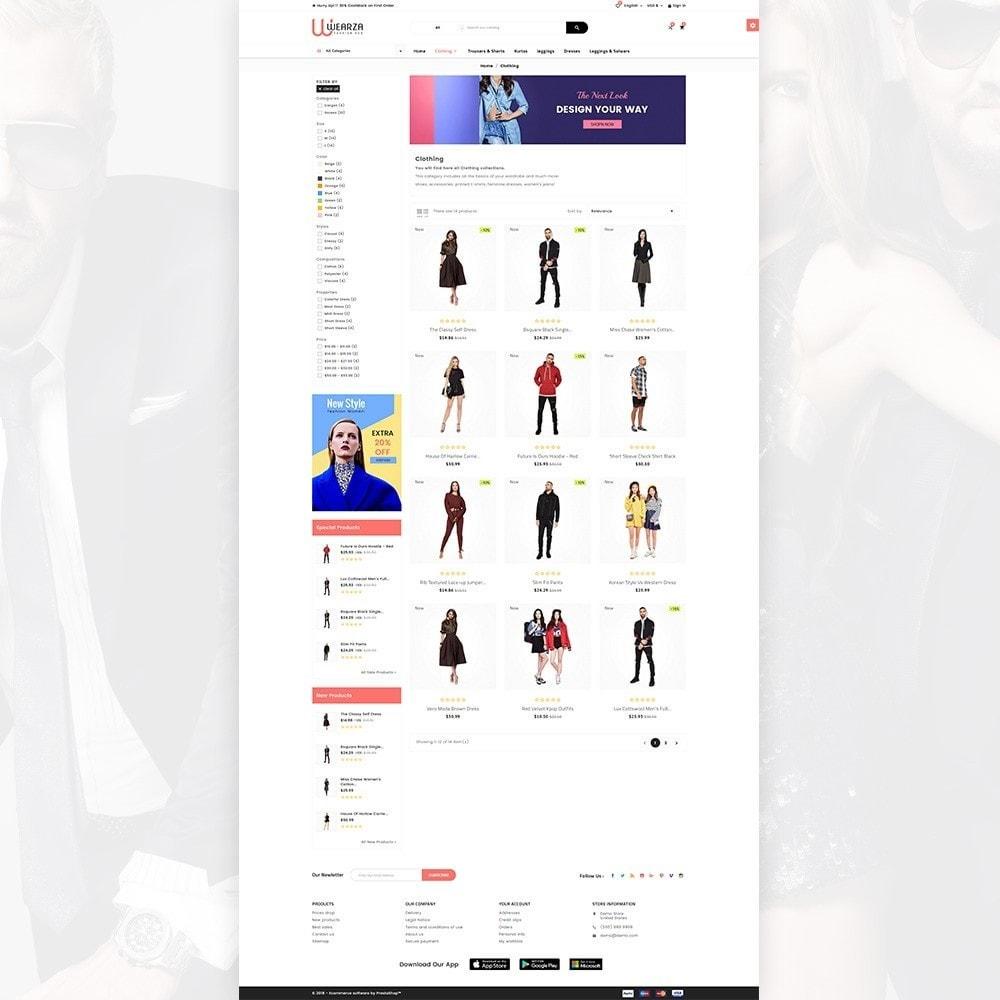 theme - Moda & Calzature - Wearza – Fashion and Big Super Store - 3