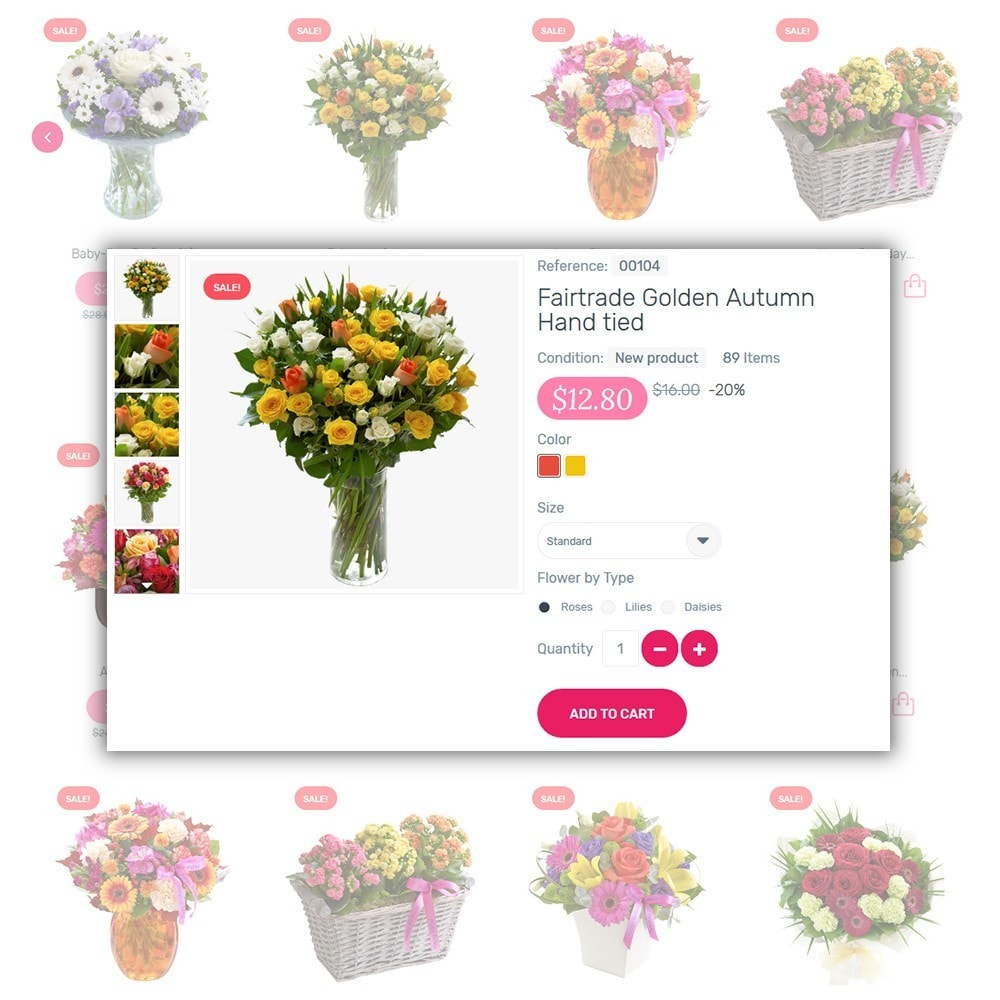 theme - Gifts, Flowers & Celebrations - Kamelia - 4