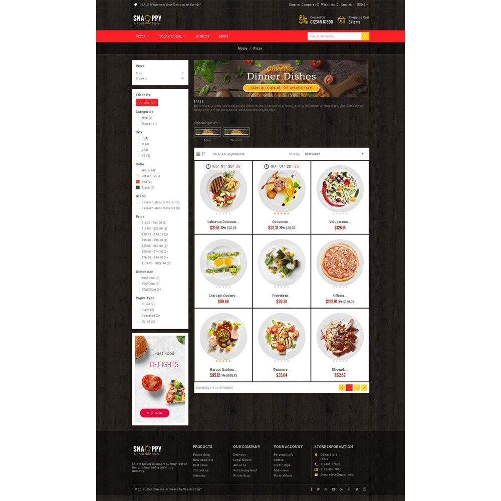theme - Eten & Restaurant - Restaurant & Snacks Food - 3