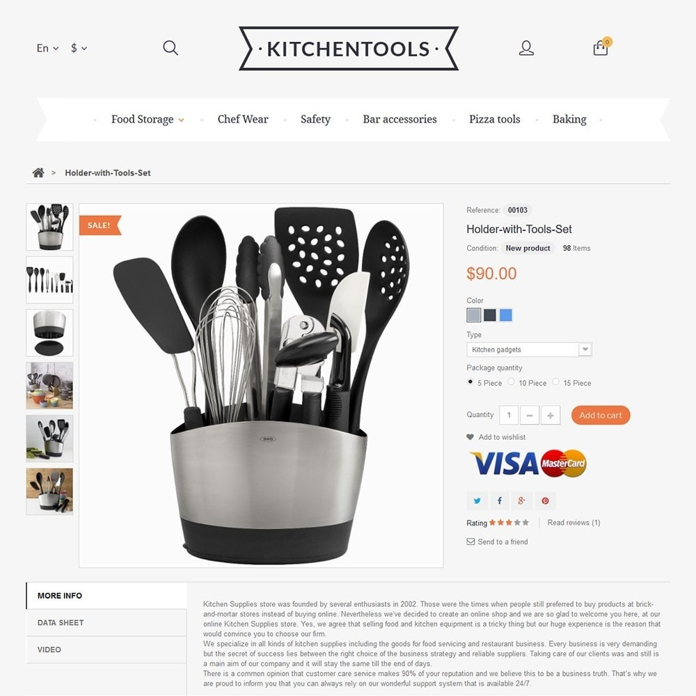 theme - Kultura & Sztuka - Kitchen Tools - 3