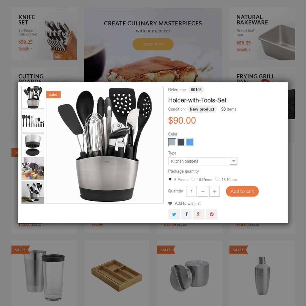 theme - Kultura & Sztuka - Kitchen Tools - 5