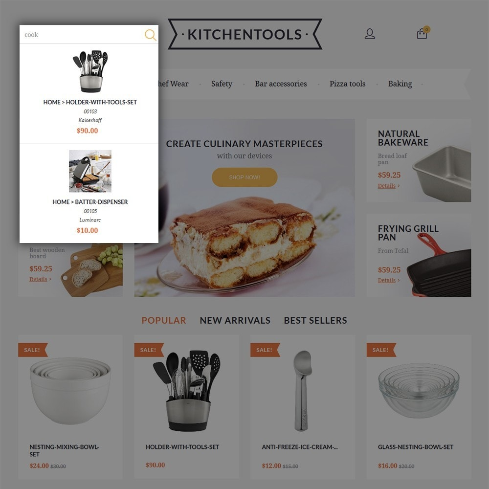 theme - Kultura & Sztuka - Kitchen Tools - 6