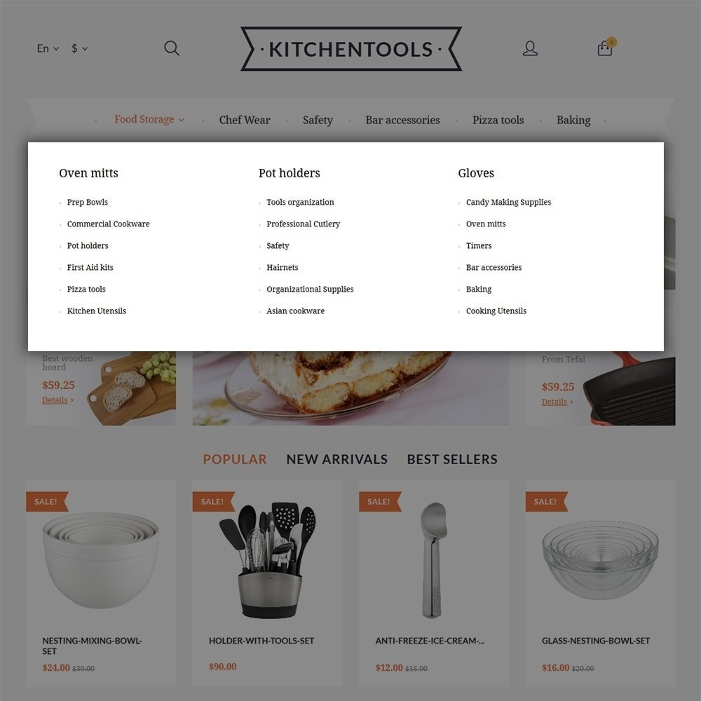 theme - Arte & Cultura - Kitchen Tools - 4