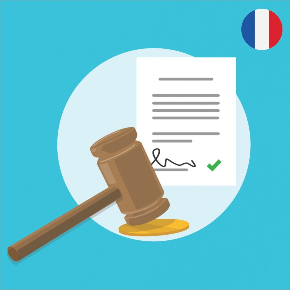 module - Legal - Custom Terms and Condition for France - GDPR Compliant - 1