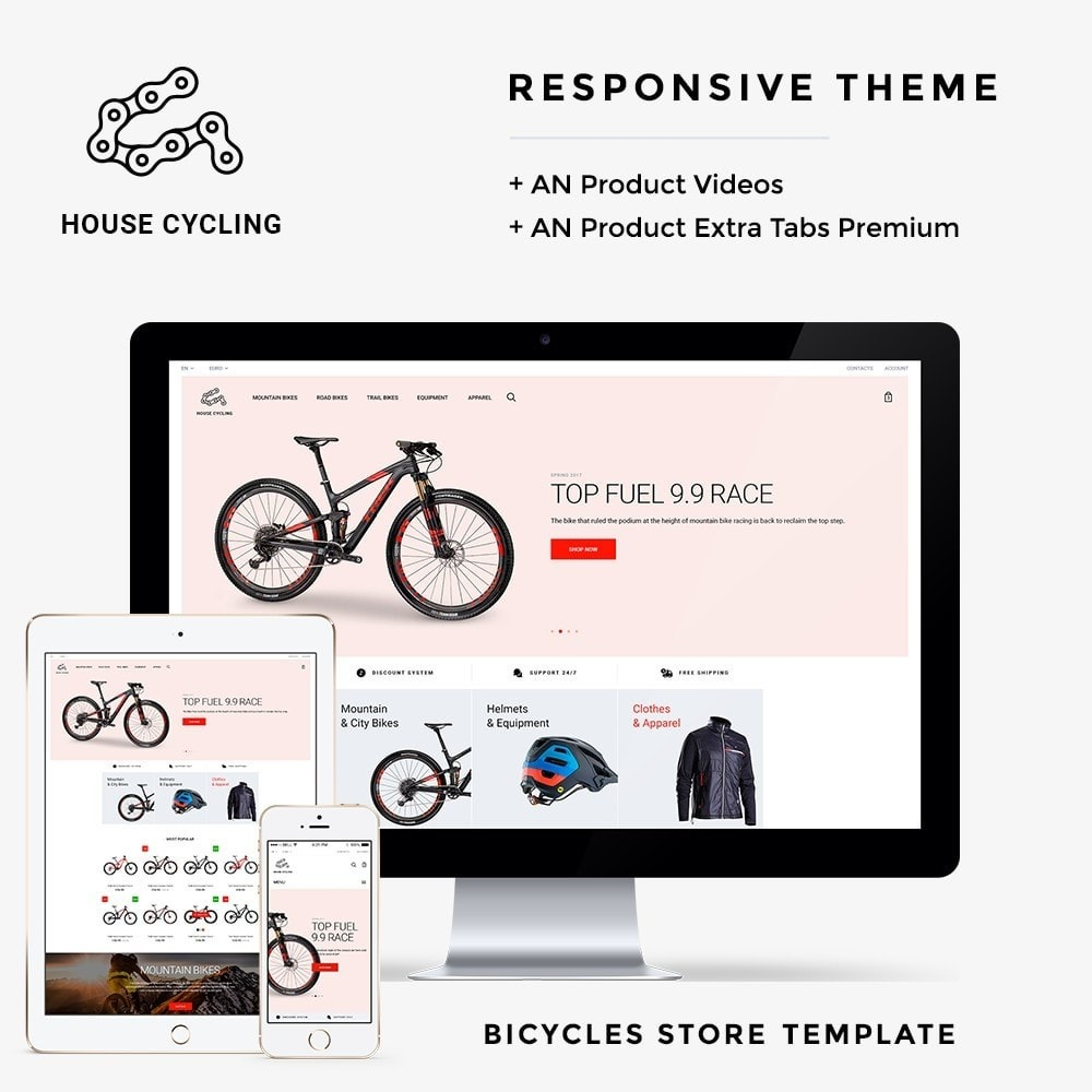 theme - Sports, Activities & Travel - House Cycling - 1