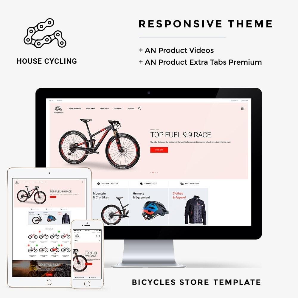 theme - Спорт и Путешествия - House Cycling - 1