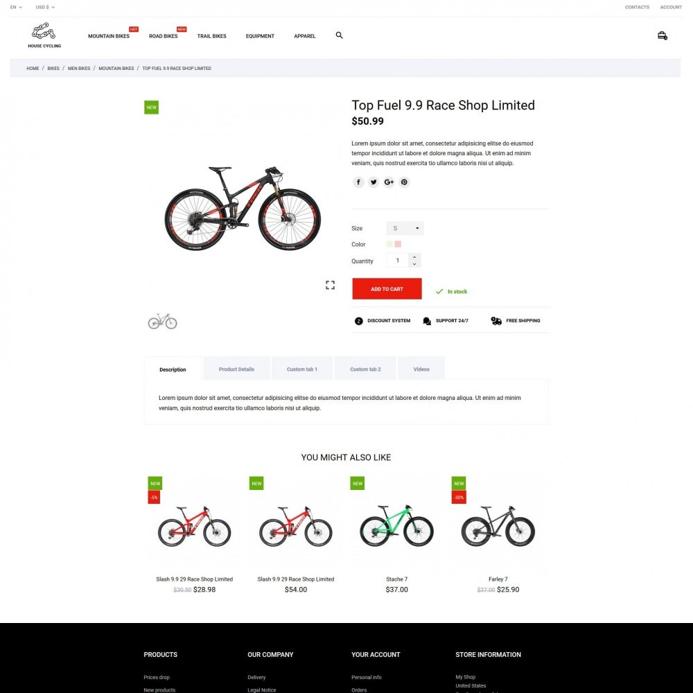 theme - Deportes, Actividades y Viajes - House Cycling - 6