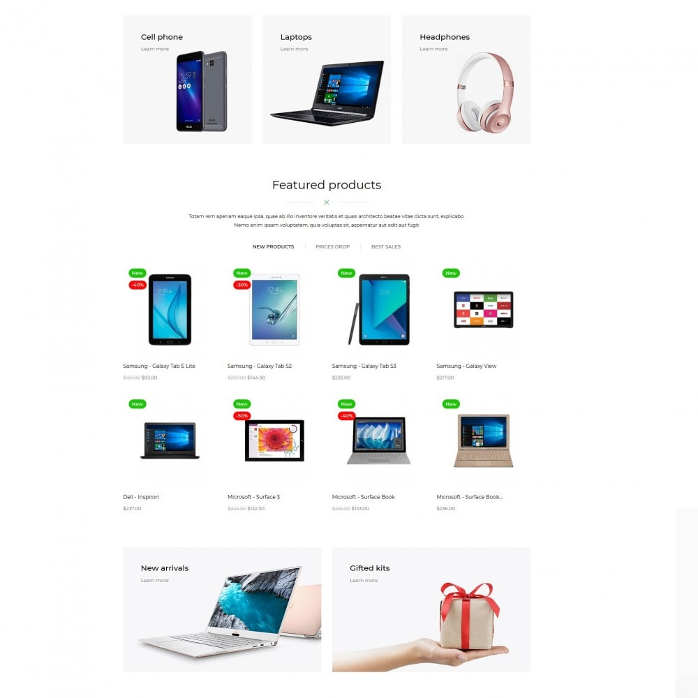 theme - Электроника и компьютеры - SmartClick - High-tech Shop - 4