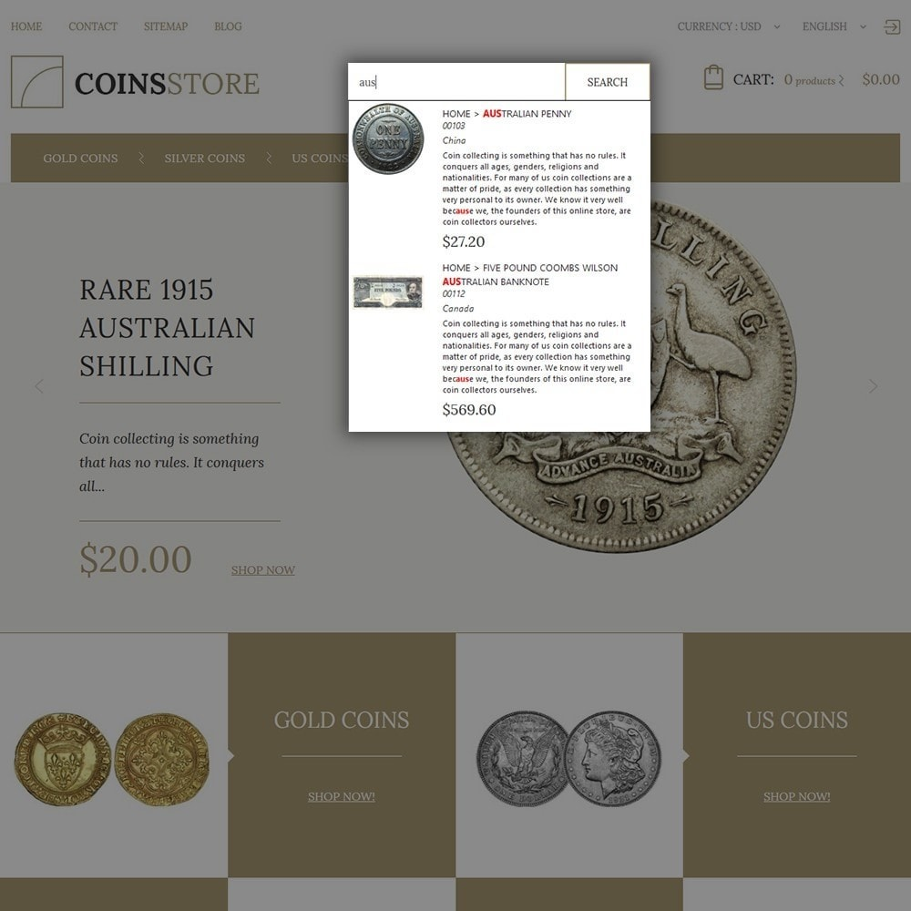 theme - Home & Garden - Coin Store - 7