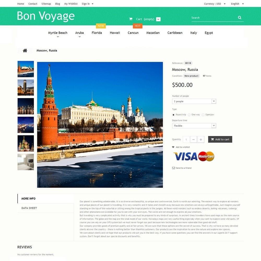 theme - Sport, Activiteiten & Reizen - Bon Voyage - Travel Agency - 3