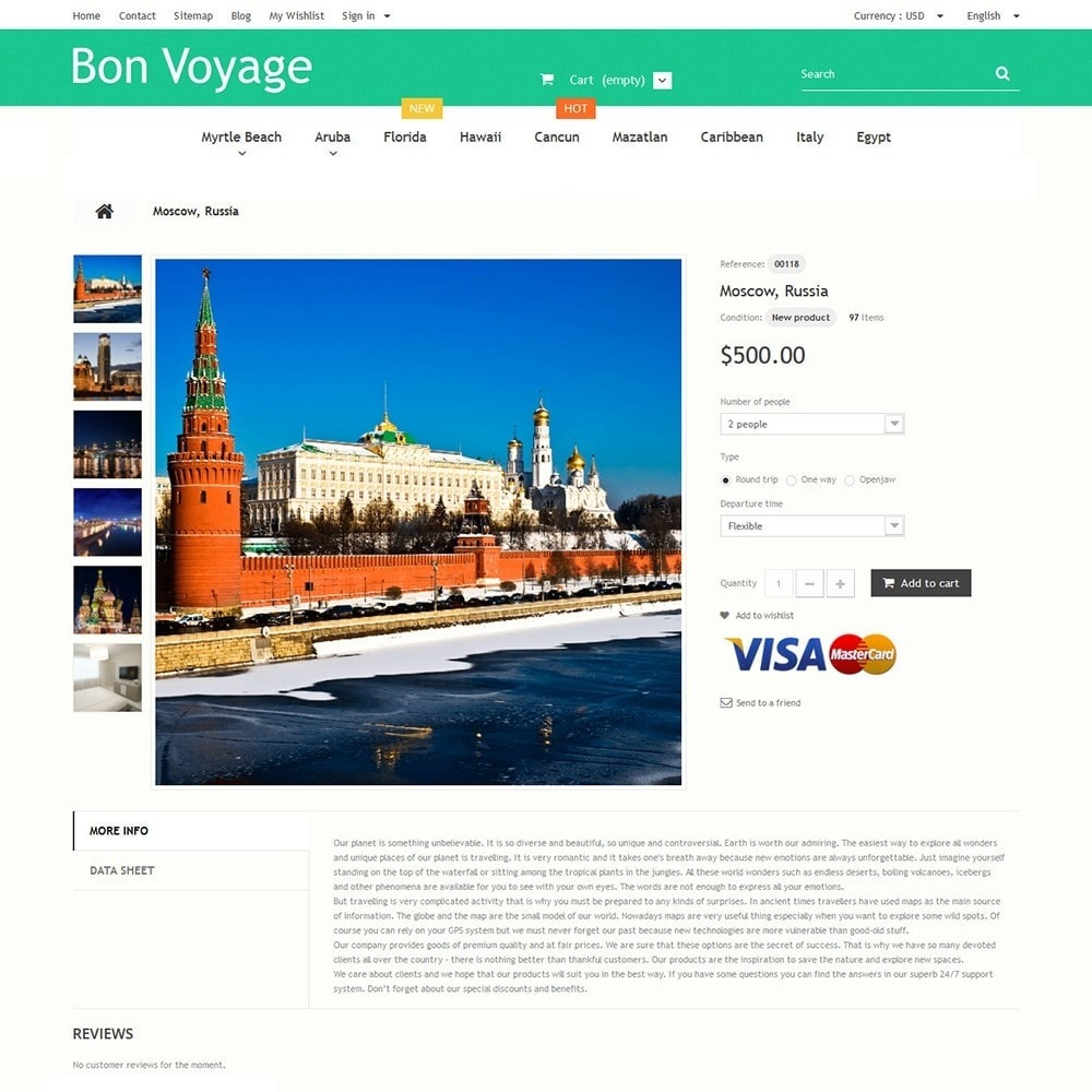 theme - Sport, Aktivitäten & Reise - Bon Voyage - Travel Agency - 3