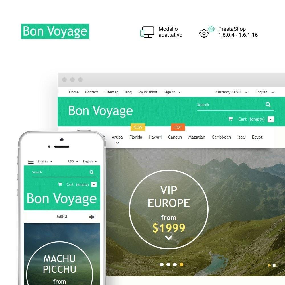 theme - Sport, Attività & Viaggi - Bon Voyage - Travel Agency - 1