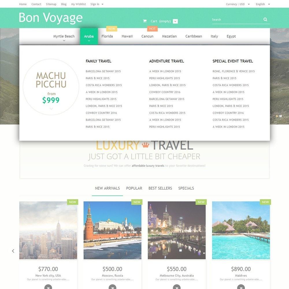 theme - Sport, Attività & Viaggi - Bon Voyage - Travel Agency - 5