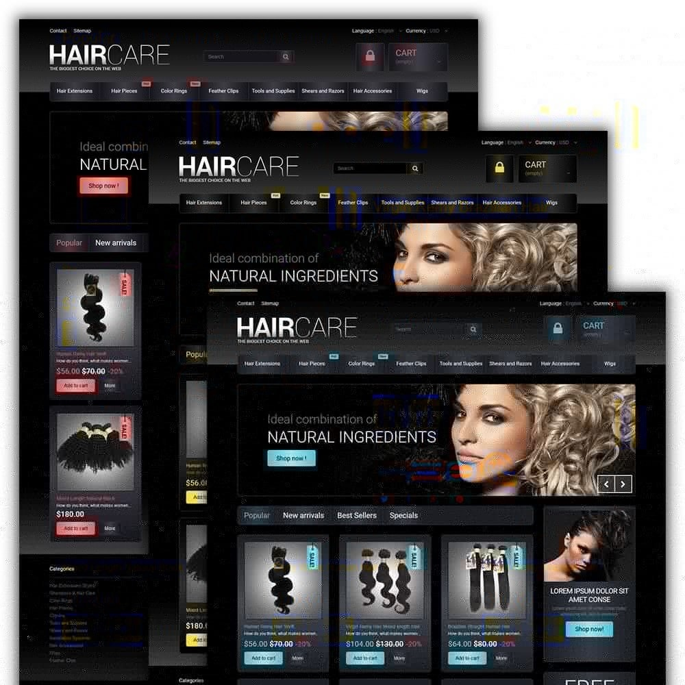 theme - Mode & Chaussures - HairCare - The Biggest Choice On The Web - 2