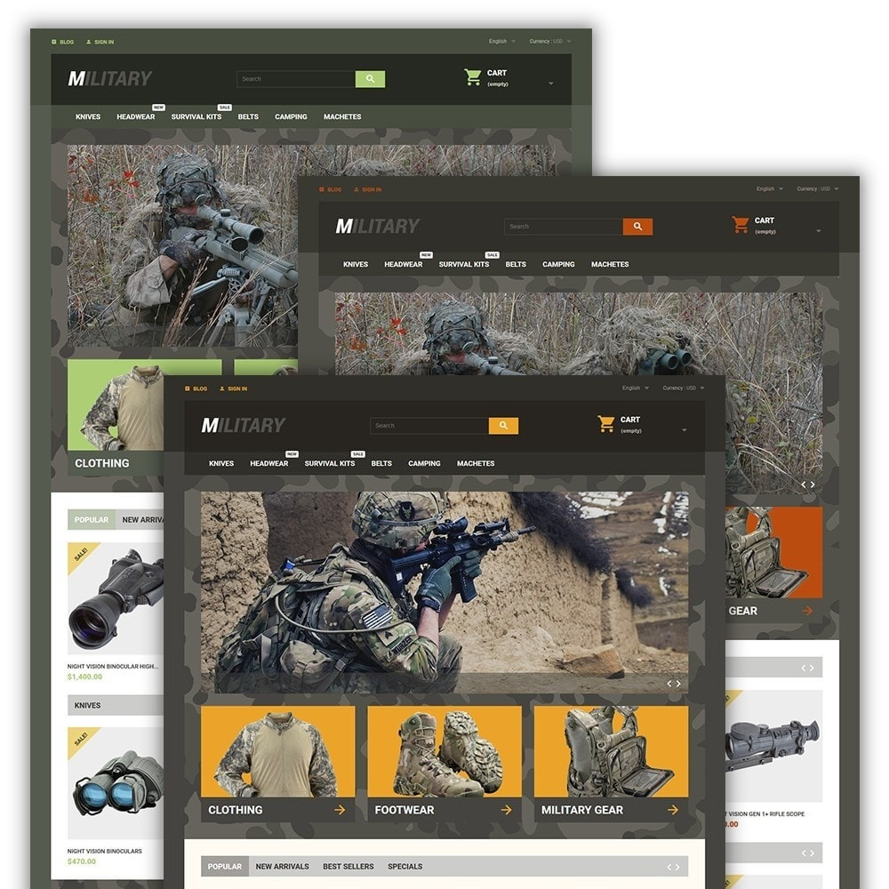 theme - Sport, Loisirs & Voyage - Military - 2