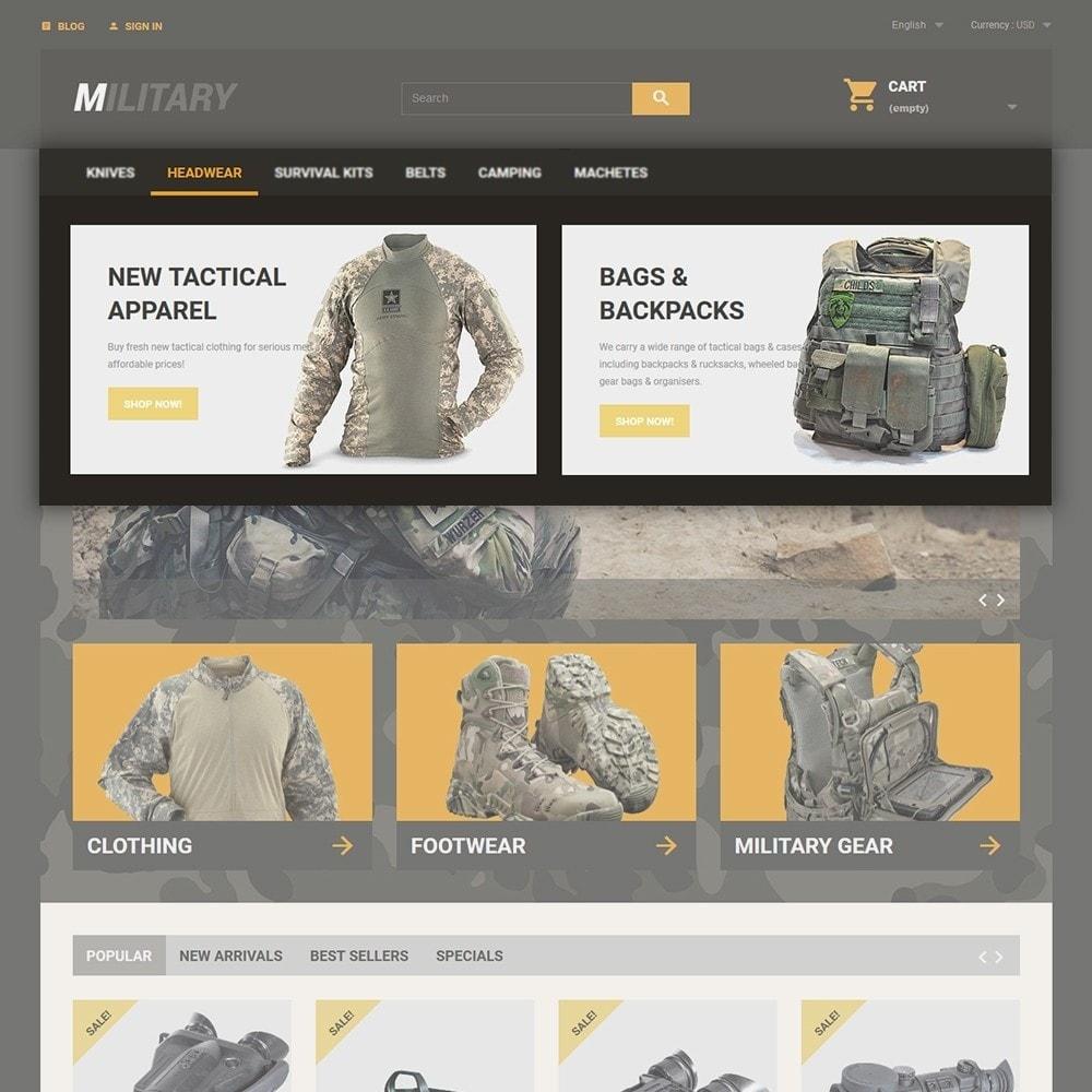 theme - Deportes, Actividades y Viajes - Military - 4