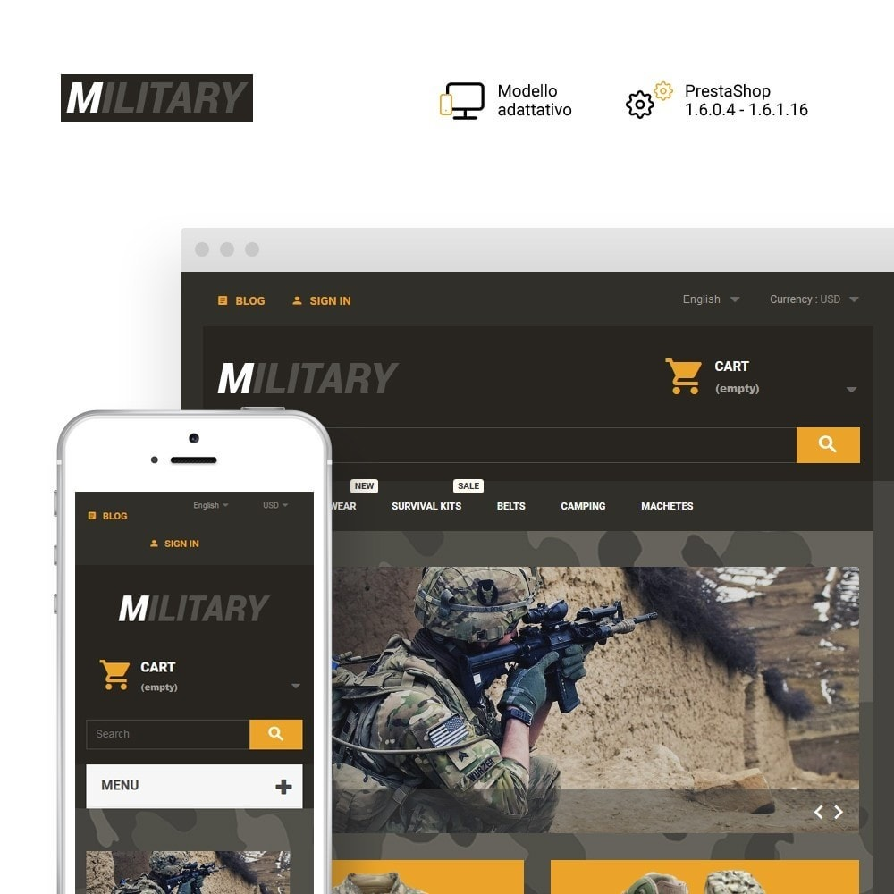 theme - Sport, Attività & Viaggi - Military - 1