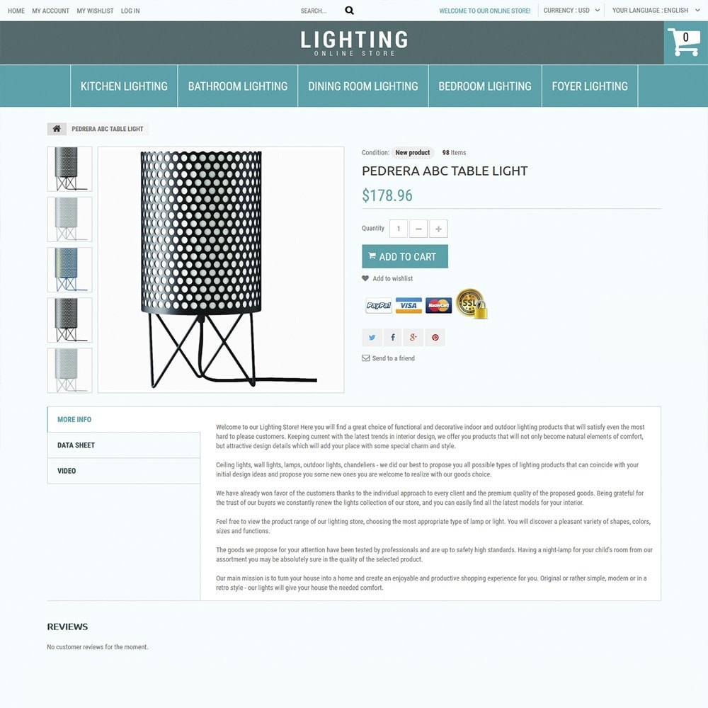 theme - Dom & Ogród - Lighting Online Store - Lighting & Electricity Store - 3