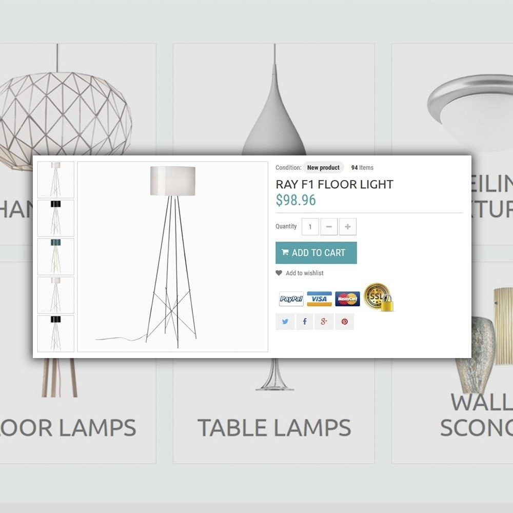 theme - Home & Garden - Lighting Online Store - Lighting & Electricity Store - 4