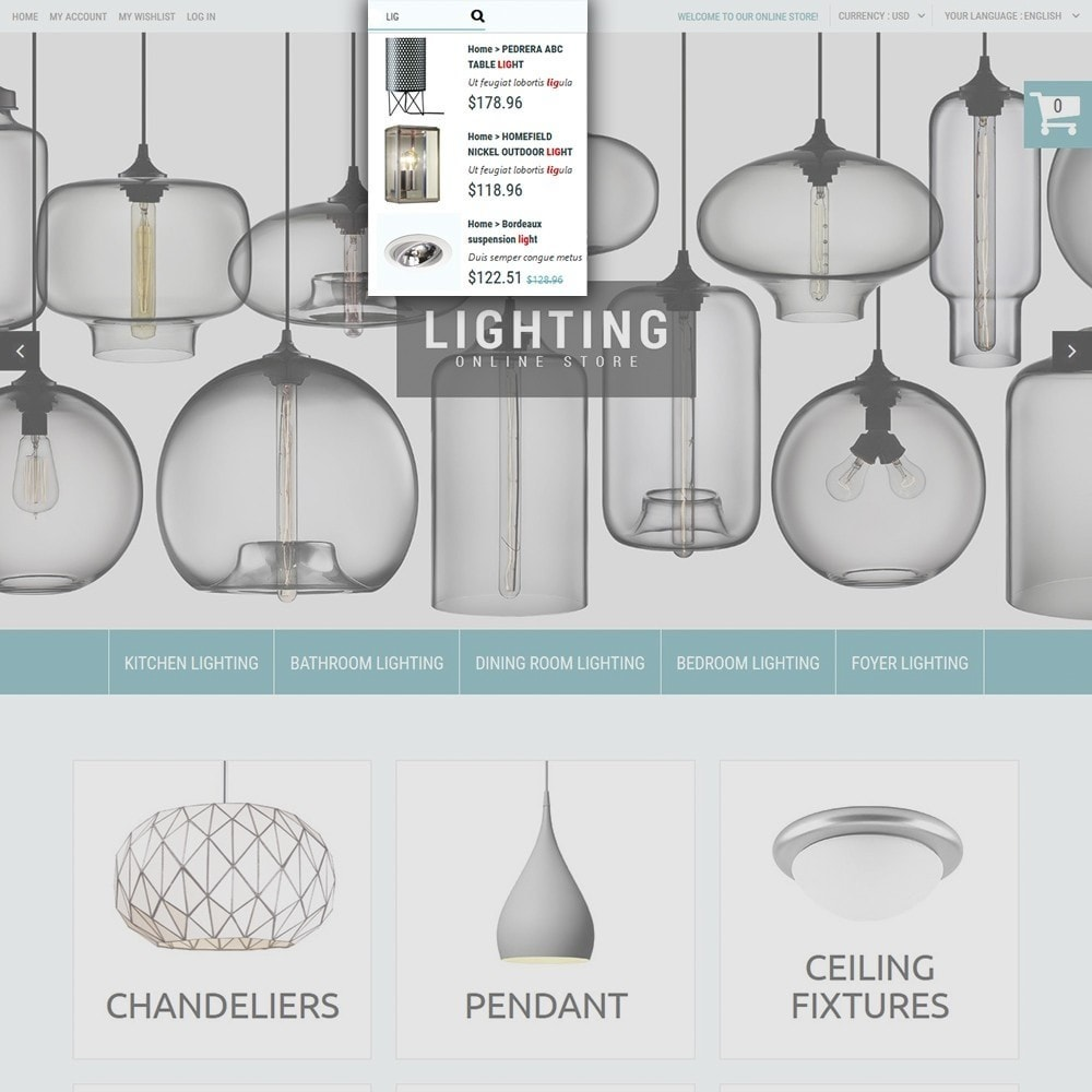 theme - Home & Garden - Lighting Online Store - Lighting & Electricity Store - 5
