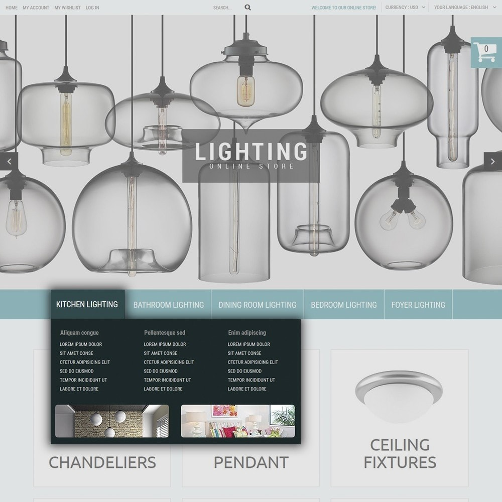 theme - Hogar y Jardín - Lighting Online Store - Lighting & Electricity Store - 6