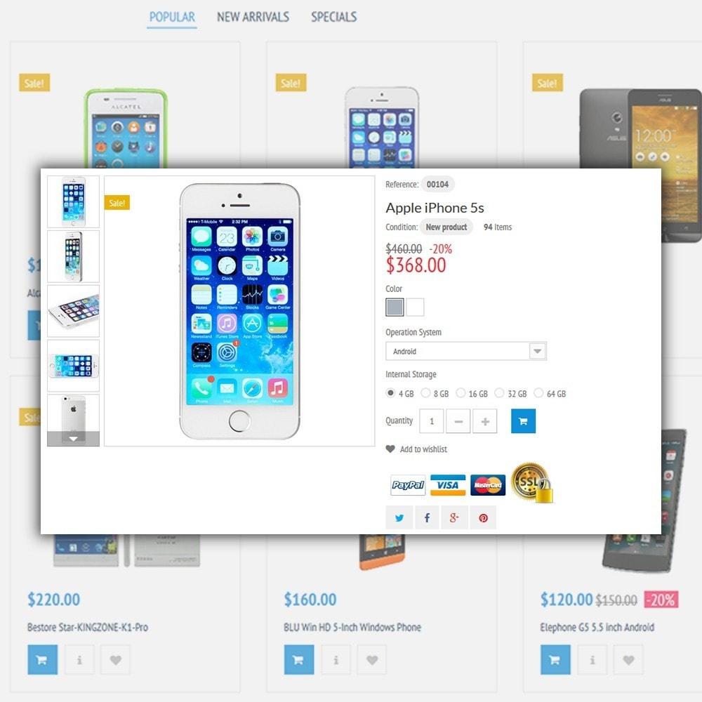 theme - Электроника и компьютеры - Mobile Store - 5