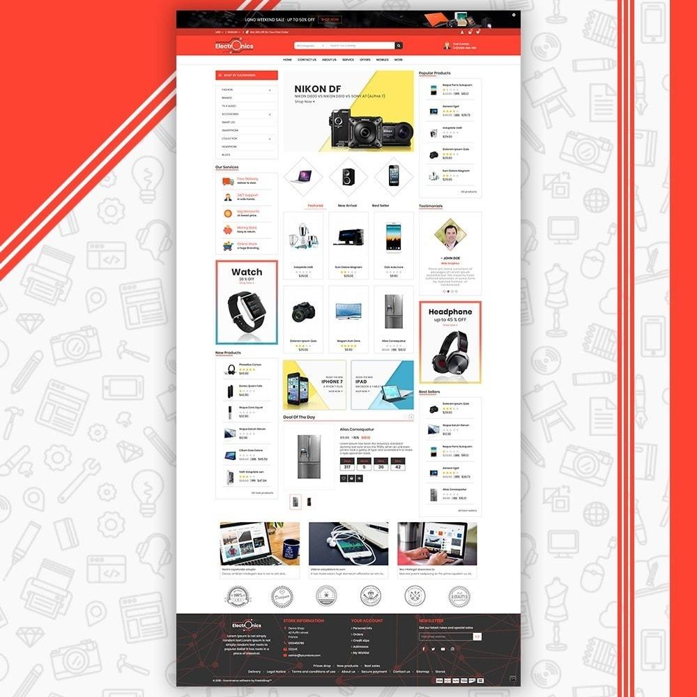 theme - Elettronica & High Tech - Mega Electronic Shop - 2