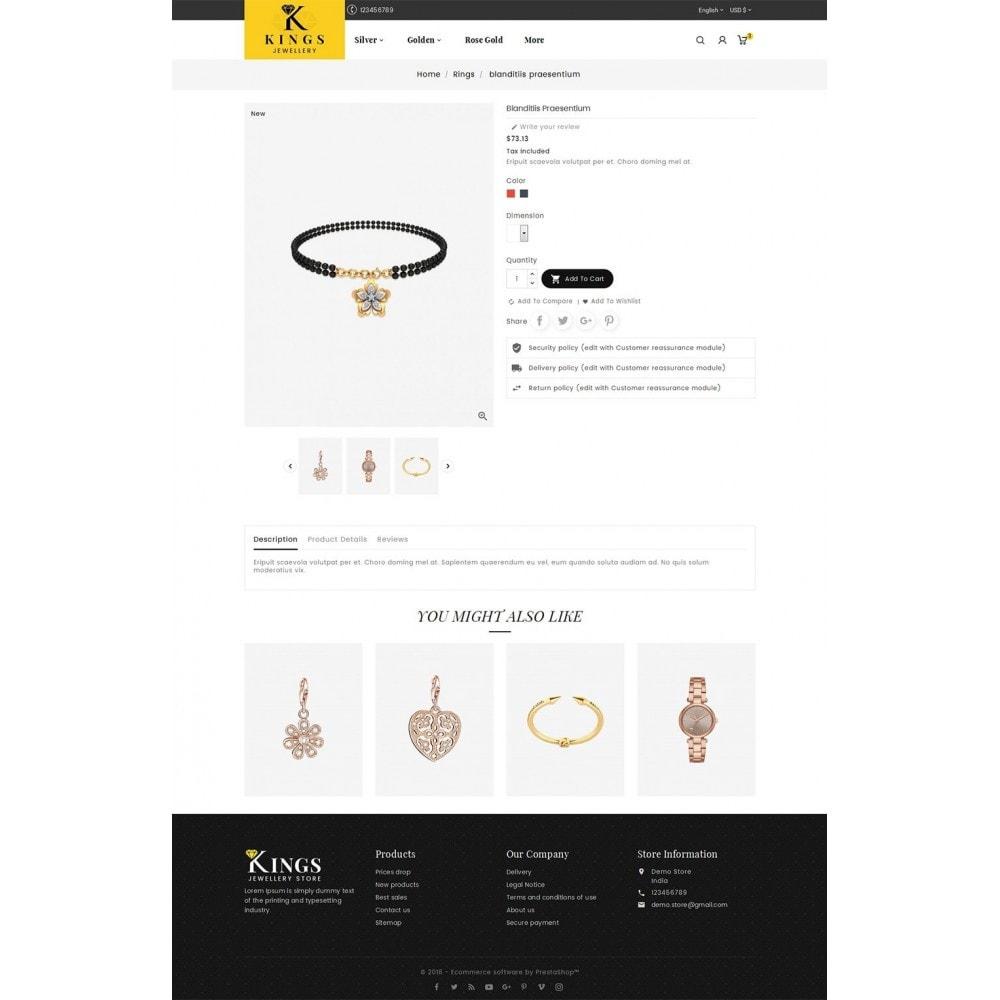 theme - Biżuteria & Akcesoria - Kings Jewelry - 5