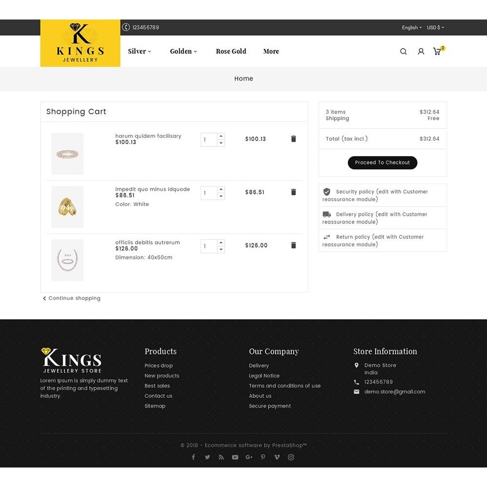 theme - Ювелирные изделия и Аксессуары - Kings Jewelry - 6