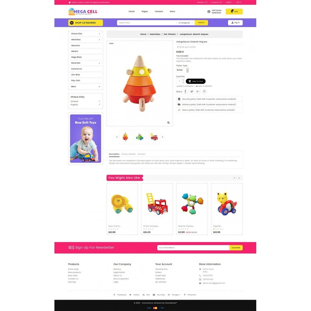 theme - Kinderen & Speelgoed - Mega Cell Kid Toys - 5