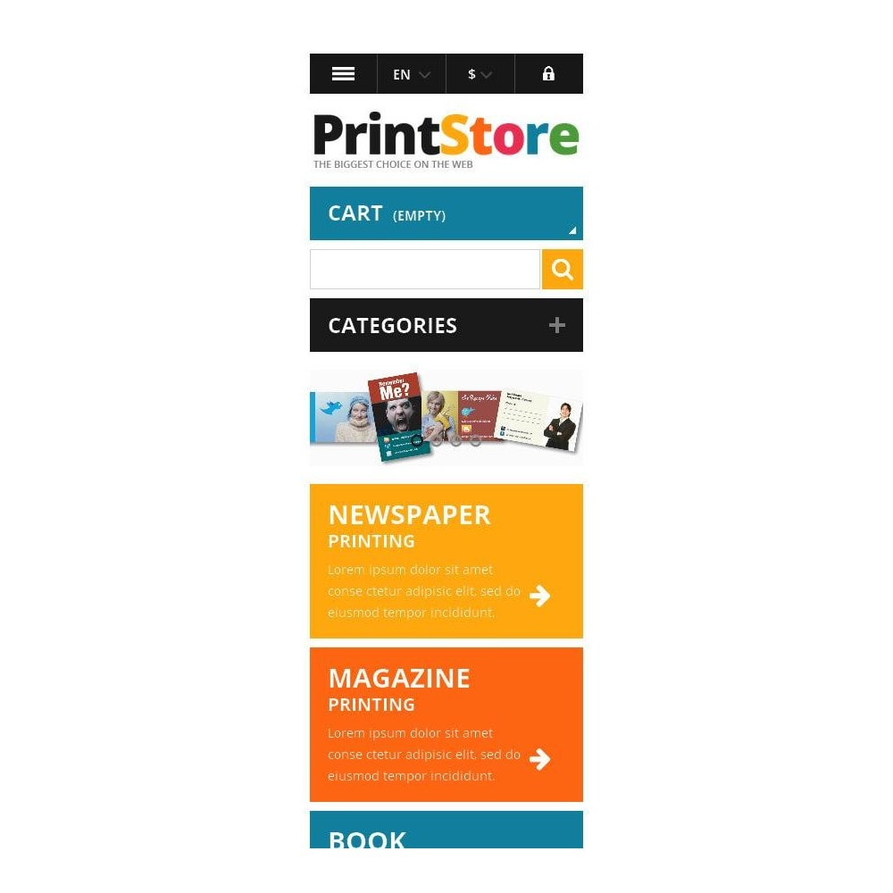 theme - Art & Culture - Responsive Print Store - 10