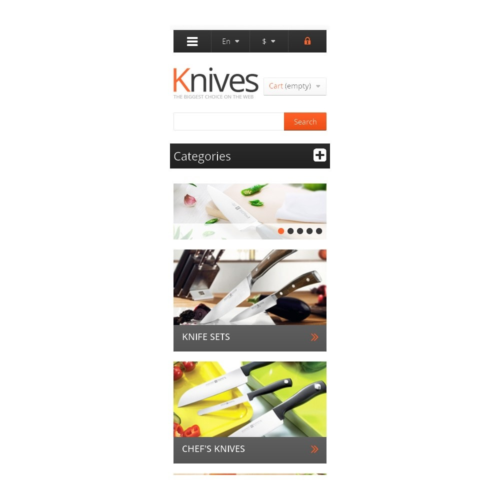 theme - Arte & Cultura - Knives for Easy Cooking - 9