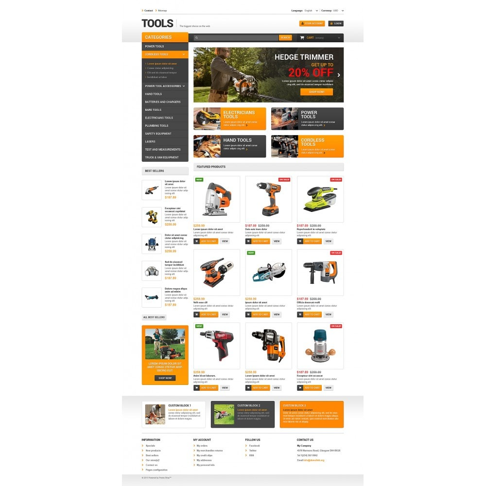 theme - Home & Garden - Quality Tools - 2