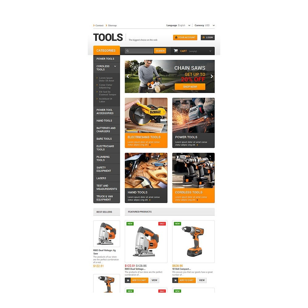 theme - Home & Garden - Quality Tools - 7
