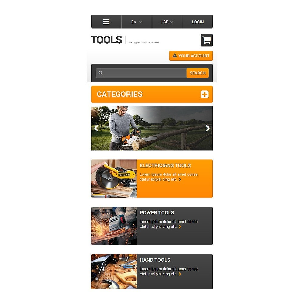 theme - Home & Garden - Quality Tools - 8