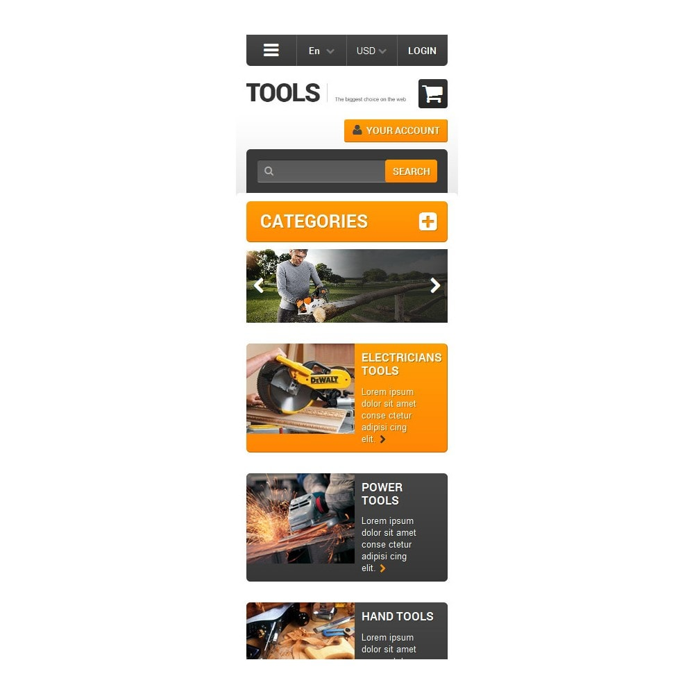 theme - Home & Garden - Quality Tools - 9