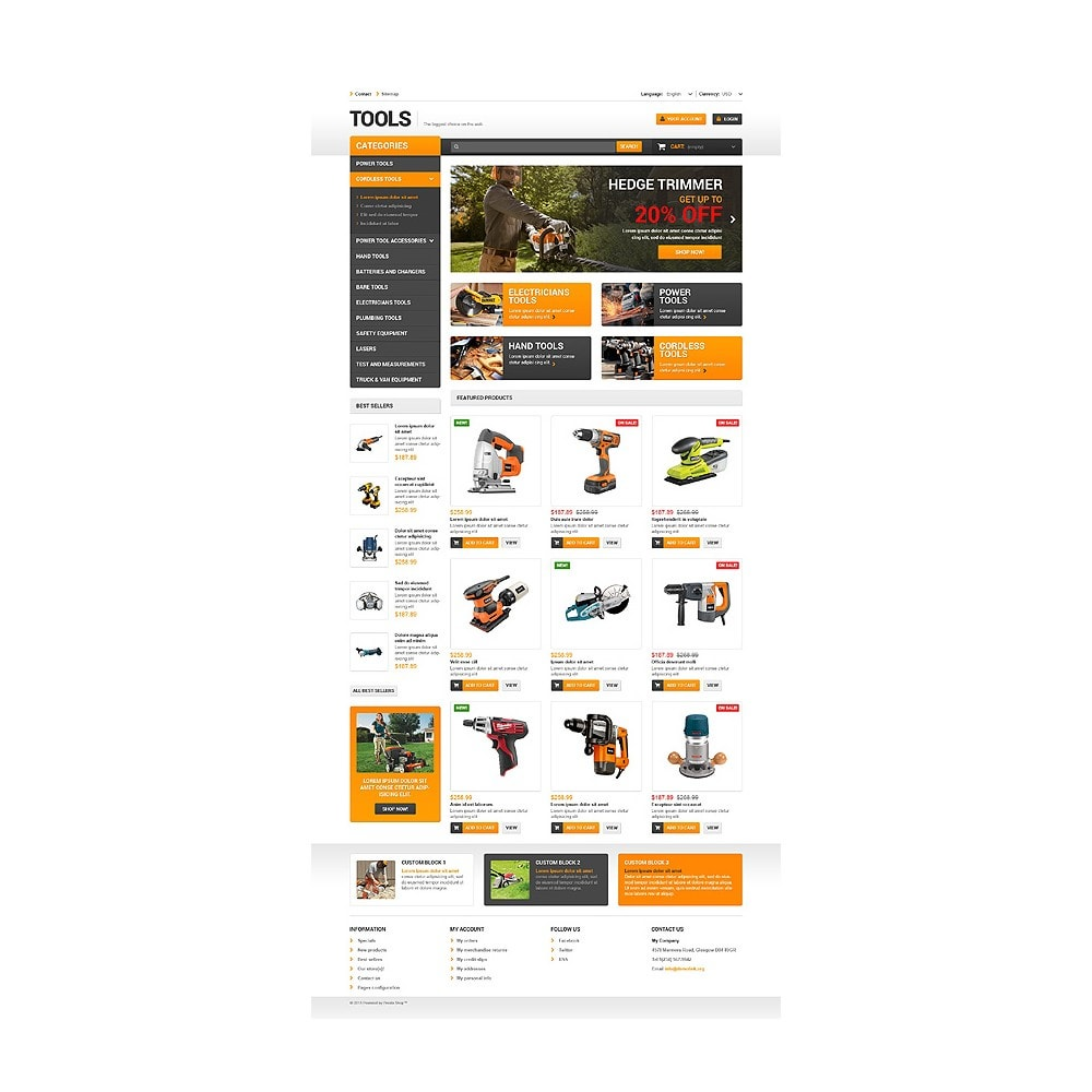 theme - Home & Garden - Quality Tools - 10