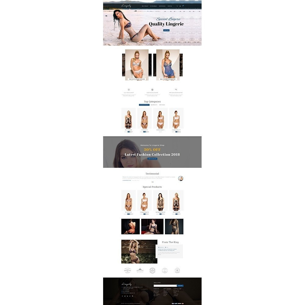 theme - Lingerie & Adultos - Lingerly Store - 2