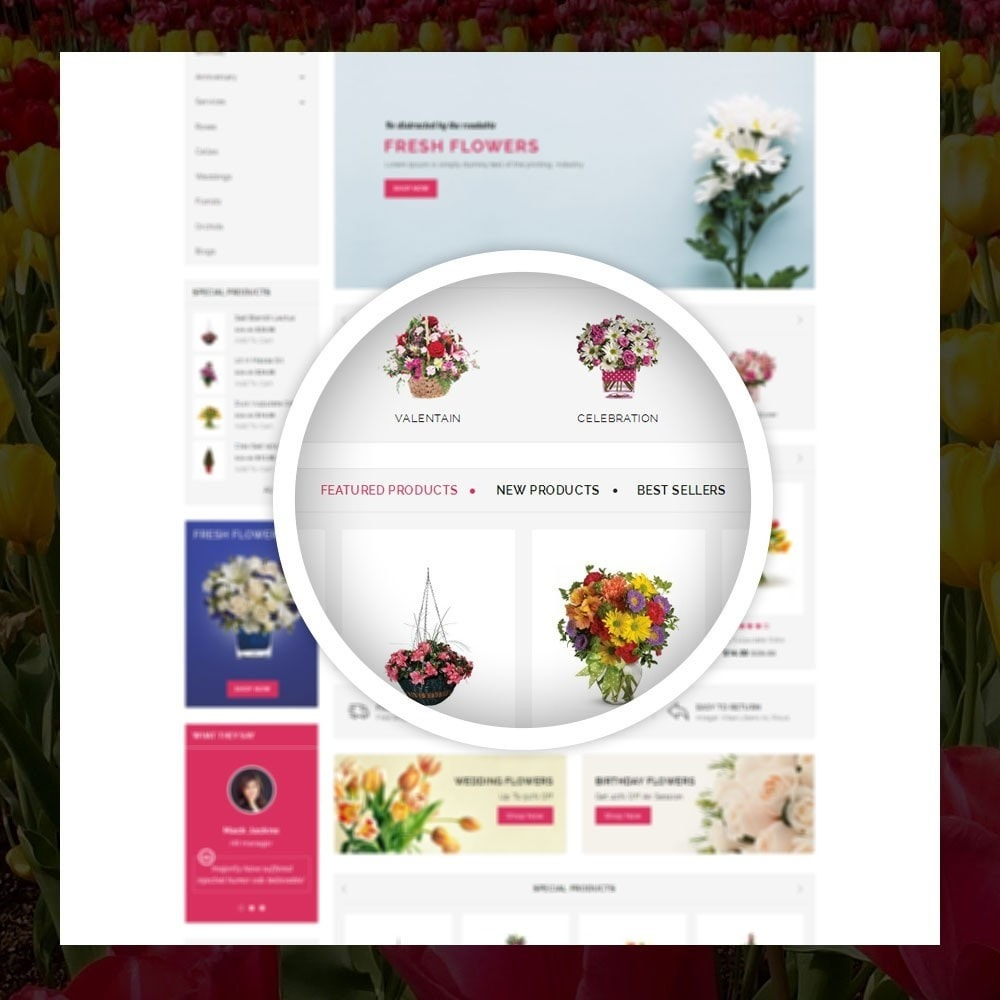 theme - Gifts, Flowers & Celebrations - Royal - Flower Store - 9