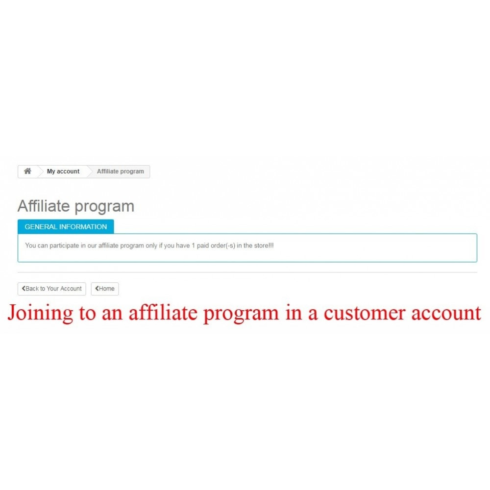module - SEA SEM (paid advertising) & Affiliation Platforms - Extended Affiliate Program RefPRO - 14