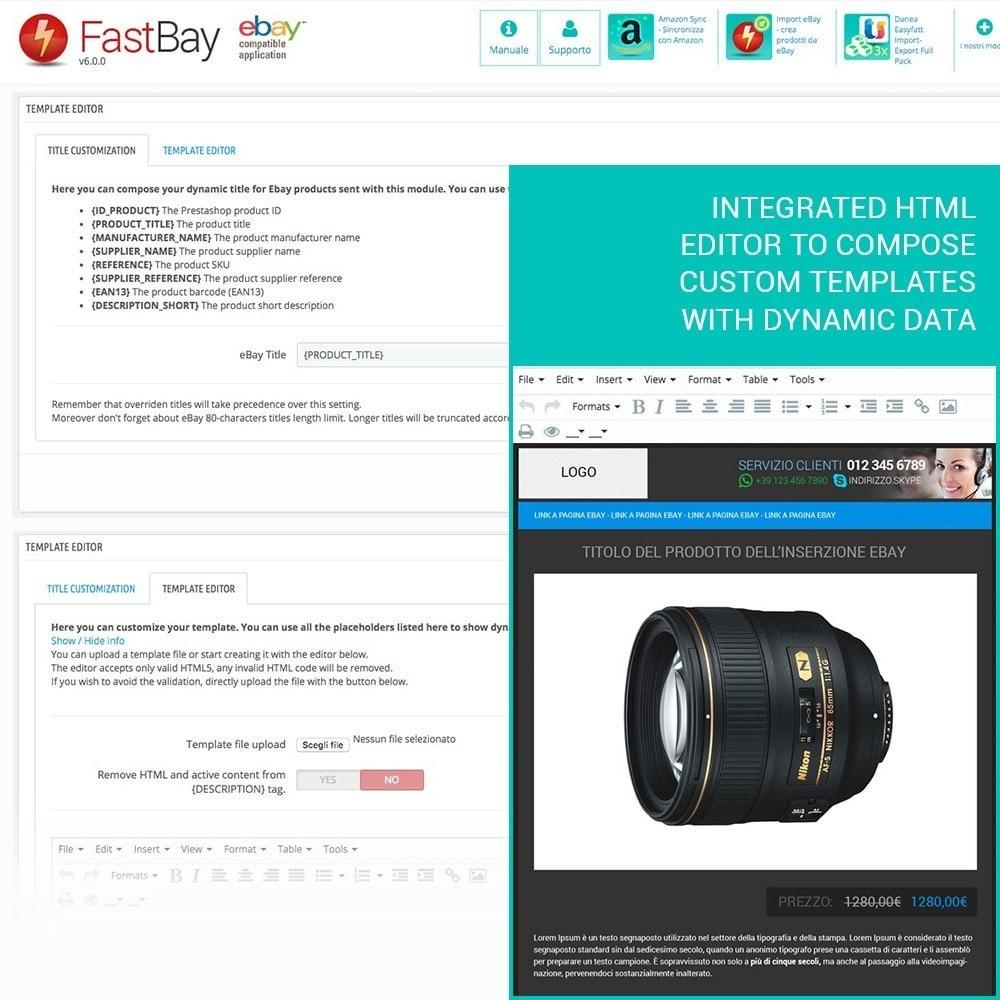 module - Marketplaces - FastBay - eBay Marketplace synchronisation - 7