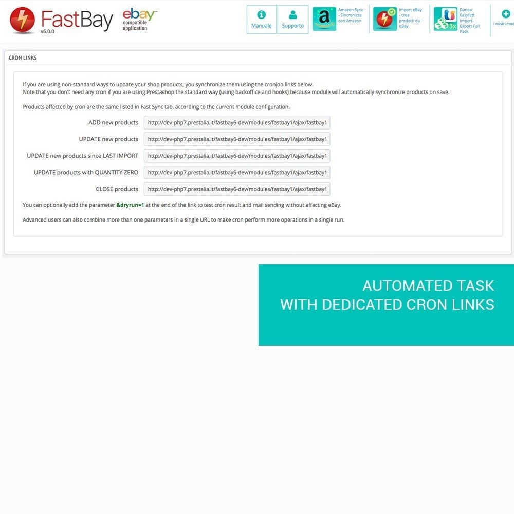 module - Revenda (marketplace) - FastBay - eBay Marketplace synchronization - 11