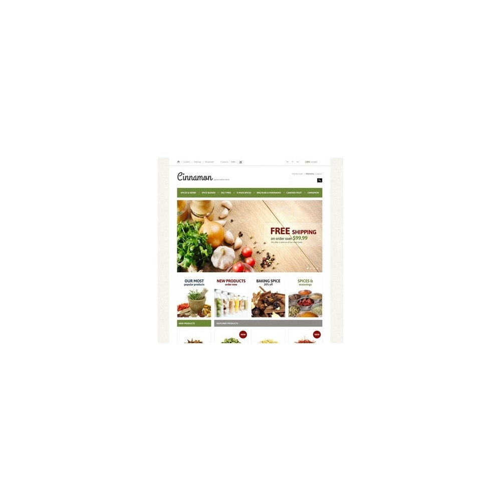 theme - Alimentation & Restauration - Spices & Herbs - 4