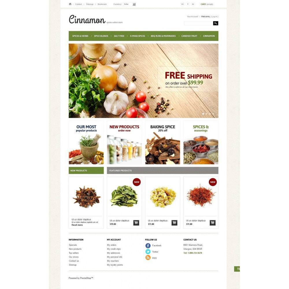 theme - Alimentation & Restauration - Spices & Herbs - 5