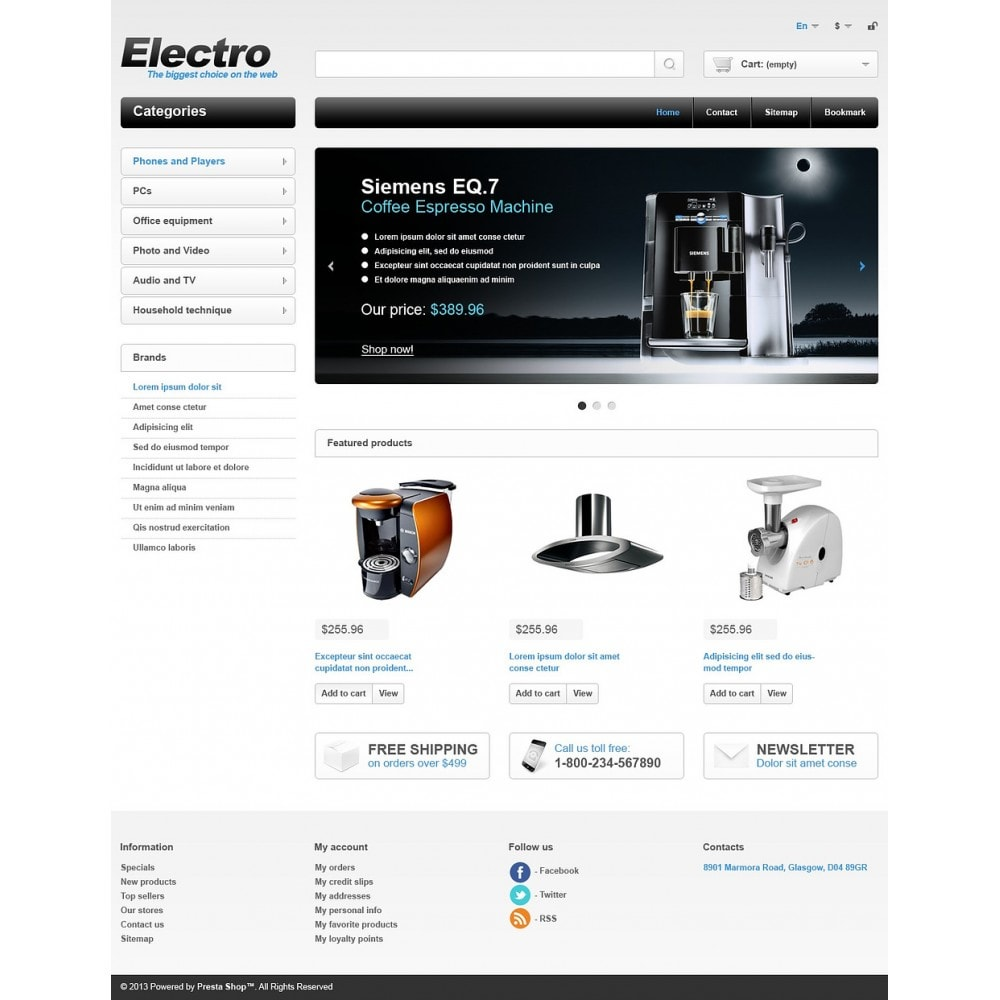 theme - Electrónica e High Tech - Electrical Appliances - 2