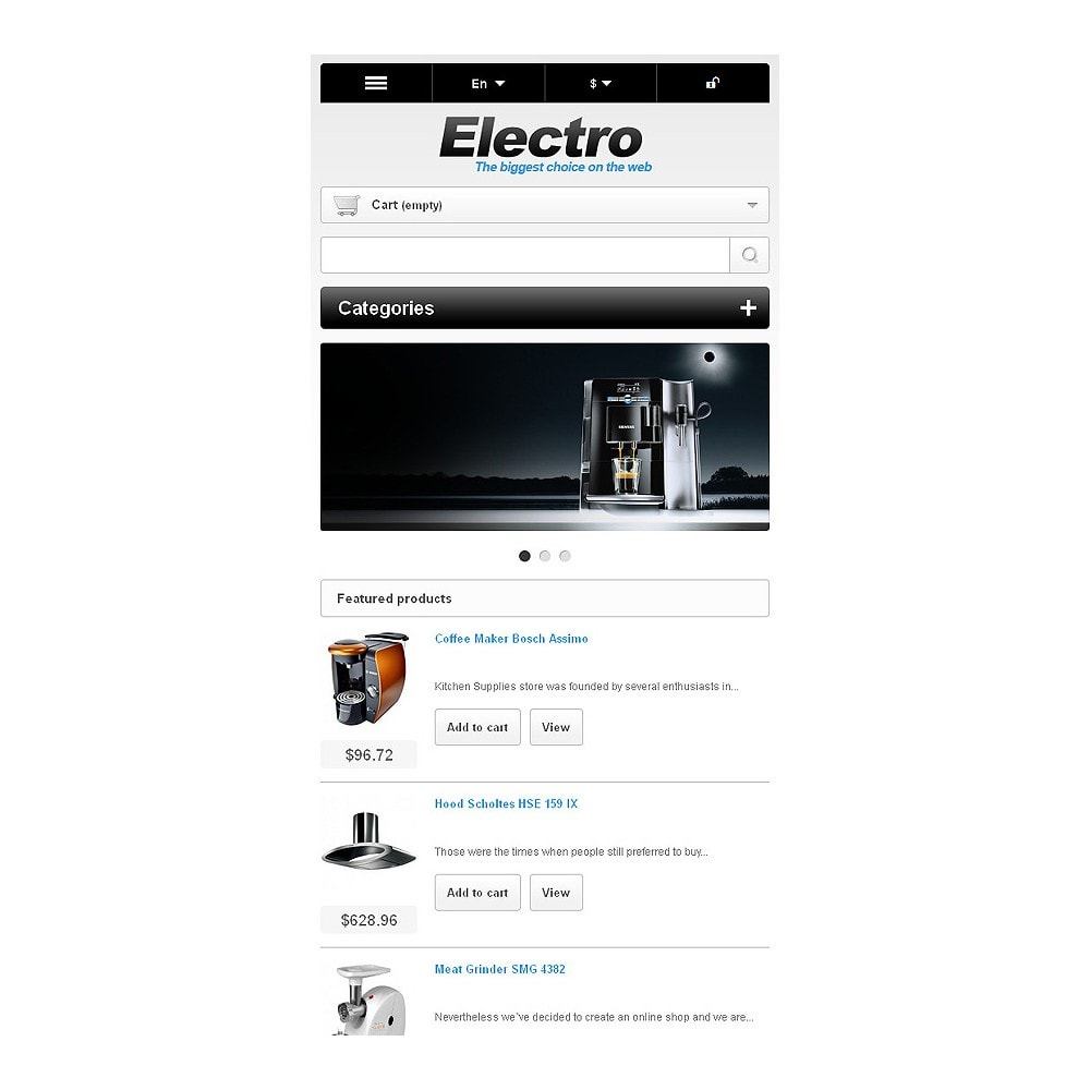 theme - Electrónica e High Tech - Electrical Appliances - 9