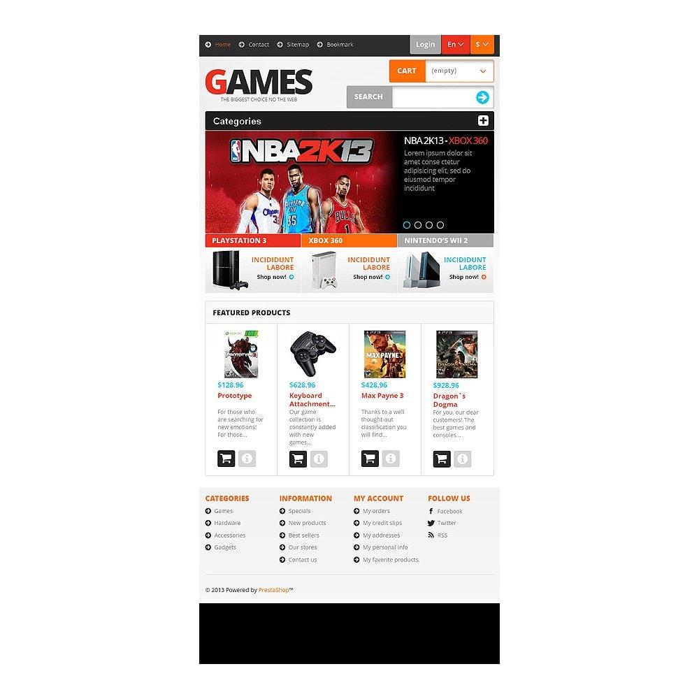 theme - Дети и Игрушки - Responsive Games Store - 6