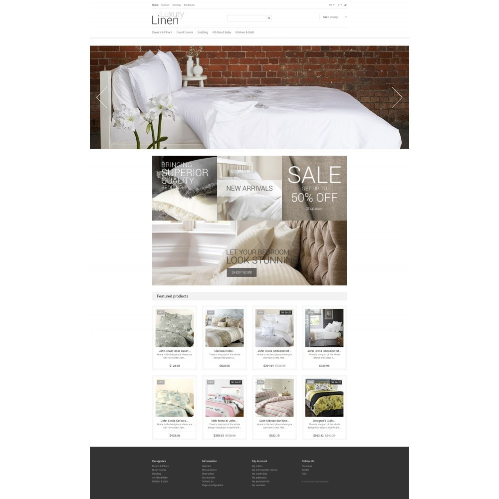 theme - Art & Culture - Luxury Linen Store - 4